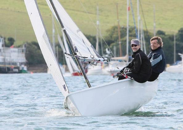 Jon Turner und Richard Parslow Rennen in Salcombe